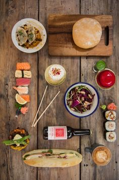 A few pieces from shooting Foodhall. Pot Sticker Dumpling Bar Dump of the Day. The Serious Sandwich Bunss. Coopers & Co. Coffee Company, Dumpling, Sashimi, Frittata, Macarons, Pastries, New Zealand, Sticker, Salad