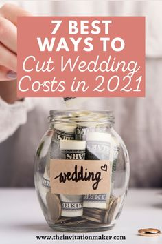 There are many ways to cut wedding costs without sacrificing the dream wedding that you have envisioned. So before you give up your hopes of having a perfect wedding, here are seven ways to cut wedding costs. Wedding Expenses, Wedding Costs, Wedding Advice, Budget Wedding, Plan Your Wedding, Wedding Ideas, Buffet Style Wedding, Home Wedding, Dream Wedding