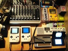 Chiptune Gameboy Mind = blown #chiptune #music #gameboy #electronics #nerdy #awesome