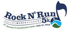 1 = Rock N' Run Virtual 5K and 1 Mile (44:15)