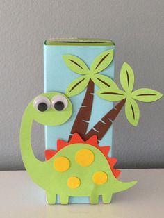 Dinosaur Juice Box Wraps pack of 10 by JuiceboxJenn on Etsy
