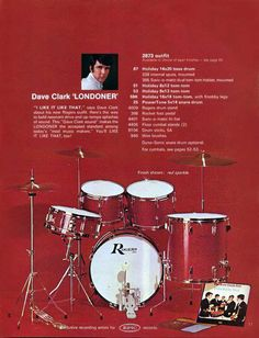 Rogers 1968 Dave Clark Londoner Kit