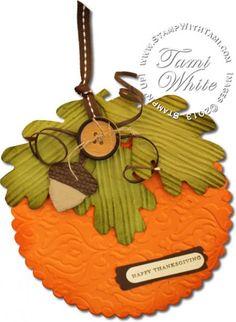 Fall Pumpkin Card (and video)