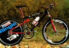 Over the summer I posted some pics from a 1989 book called The Complete Mountain Biker and it was pretty amazing to see how much things have changed since Yeti Mtb, Mtb Bike, Bicycle, Yeti Cycles, Retro Bike, Bike News, Bike Photo, Old Skool, Mountain Biking