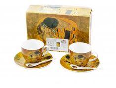 Šestidílná porcelánová sada - Gustav Klimt Gustav Klimt, Mugs, Tableware, Dinnerware, Tablewares, Mug, Place Settings