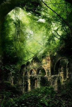 Castle Ruins, Poland by bjdigiacomo