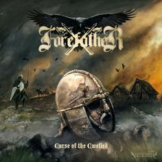 Forefather - Curse of the Cwelled (2015)  Black/Viking Metal band from UK  #Forefather #BlackMetal #VikingMetal