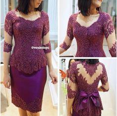 Party dress w/ big bow by @verakebaya