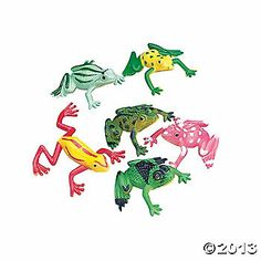 Colorful Mini Frogs