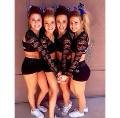 Discover ideas about cheerleading poses Cheer Athletics, Cheer Stunts, Cheer Dance, Cheer Picture Poses, Cheer Poses, Picture Ideas, Photo Ideas, Cheer Outfits, Cheerleading Outfits