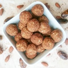 Little bites of protein packed energy that have just the right amount of chewiness, flavour and sweetness.