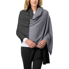 Celeste Ladies' Travel Wrap-Gray