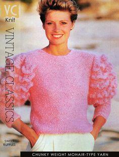 feminine ruffled sleeves
