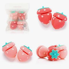 Strawberry Hair Roller sold by MILKTEAS. Shop more products from MILKTEAS on Storenvy, the home of independent small businesses all over the world.