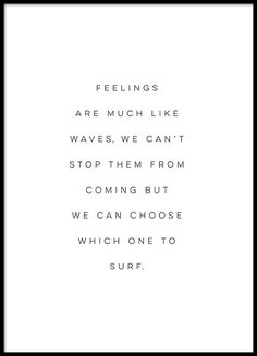 Poster about feelings
