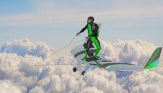 衝浪不夠看最新極限運動風板讓你在雲海滑翔 - Inside 網摘