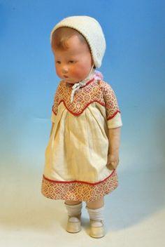 Käthe-Kruse-Puppe I Schlank 3ernaht-Stoffkopf 1932-40, extrem selten & dekorativ | eBay