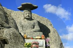 The Gatbawi statue outside of Daegu, South Korea.  Many, many, MANY steps to the top!! it is worth it though