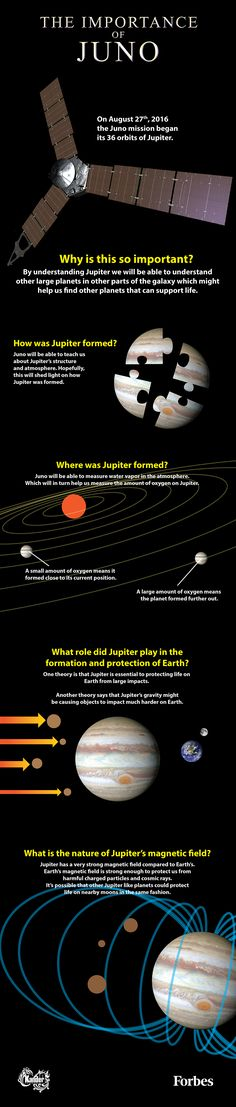 By studying Jupiter we will learn how a gas giant affects the solar system around it and then we will be able to understand the nature of other solar systems just by examining their gas giants