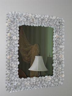 Paper Rose Frame