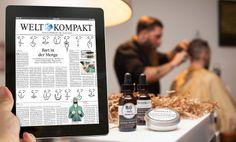 Brooklyn Grooming interview in Die Welt, Germany #interview #press #mensgrooming #mckenziesantiago #mensstyle #beard #grooming #classic #dapper #timeless #handmade #AlfredoOrtiz