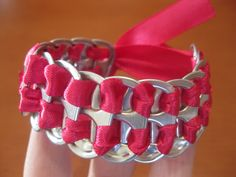 DIY Pop Tab Bracelet