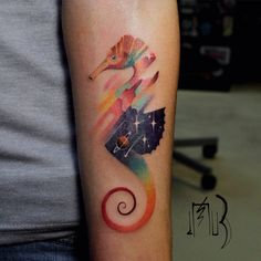Animal Tattoos With Digital Pixel Glitches By Russian Artist | Bored Panda