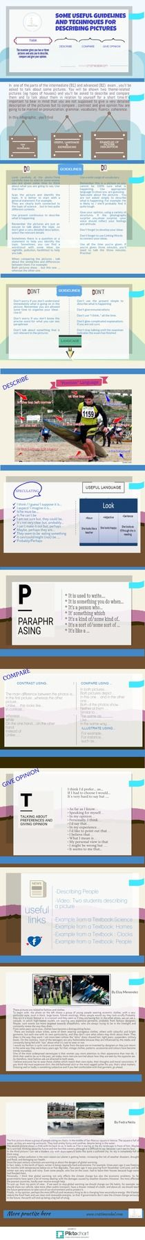 Some Useful Guidelines and Techniques for Picture Description | Piktochart Infographic Editor