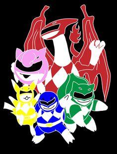power ranger pokemon :)