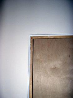 trimless door - Google Search & Modern door jamb building plans. No mouldings.   House   Pinterest ... pezcame.com