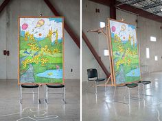 cool-Art-Design-Dr-Seuss-students-chairs-mountains