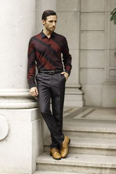 men in brown woven leather increase height shoes
