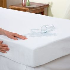 Elegant Comfort Waterproof Mattress Protector Hypoallergenic Deep Pocket Construction Queen >>> Check this awesome product by going to the link at the image. (This is an affiliate link) Futon Mattress, King Size Mattress, Best Mattress, Futon Couch, Mattresses, Futon Covers, Mattress Covers, Mattress Protector