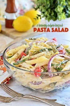 Creamy Asparagus Pas