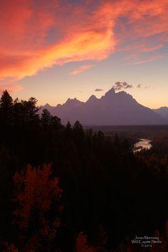 Fall Camping in Yellowstone/Grand Teton NP
