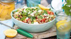 Italian buckwheat salad | Healthy recipes | SBS Food
