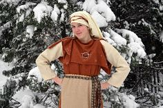 Trollkona: feminine attire- Finnish Iron Age, Viking Life, Early Middle Ages, Norse Vikings, Medieval Costume, Viking Jewelry, Historical Costume, Canada Goose Jackets, To My Daughter