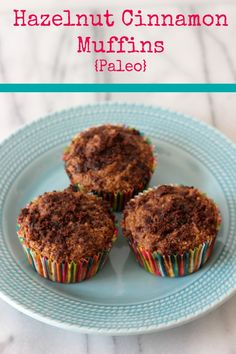 Me and My Pink Mixer: Hazelnut Cinnamon Muffins {Paleo}