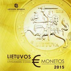 3,88 Euro CuNi Kurssatz Litauen 2015 BU UN