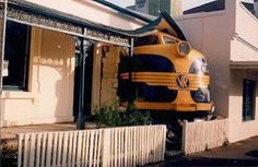 Train Crashes!