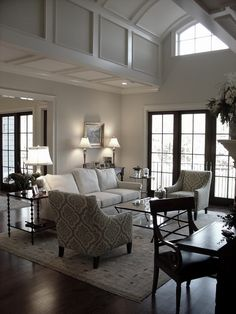 neutrals in a living room