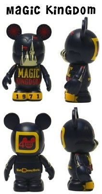 Disney Vinylmation Celebrating 40 Years Of Magic Magic Kingdom $29.99
