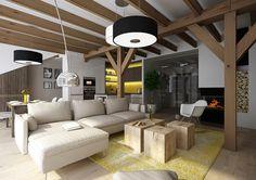 Podkrovní obývák | AŤÁK DESIGN