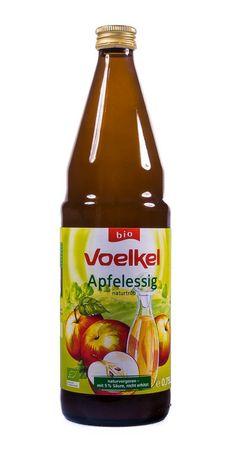 Voelkel Bio Apfelessig, naturtrb, demeter (1 x 750 ml): Amazon.de: Lebensmittel & Getränke