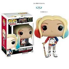 Funko Pop de Harley Quinn del Suicide Squad o el Escuadrón Suicida.