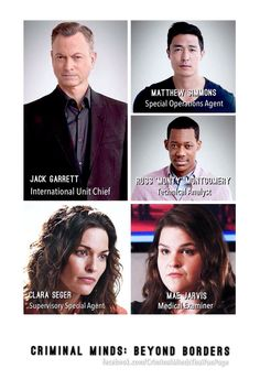 Criminal Minds:Beyond Borders set for TV airing in 2016