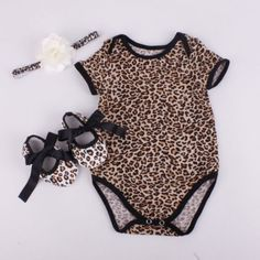 Infant Kids Baby Girl Lace Ruffled Romper Bodysuit Hair Band Outfit Summer P6