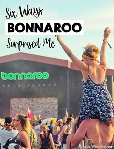 Despite knowing that a well-done festival can be a beautiful experience that goes so much deeper than music, dancing, and binge-drinking, Bonnaroo still managed to surprise me.  Here are six of the biggest shocks I experienced at this incredible Tennessee festival.