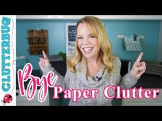 - YouTube Clutter Organization, Household Organization, Paper Organization, Organizing Tips, Office Organization, Cleaning Tips, Declutter Your Home, Organize Your Life, Old Fashioned Words