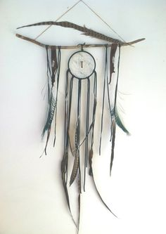 LARGE Custom Dream Altar. // large dream catcher by SpiritTribe